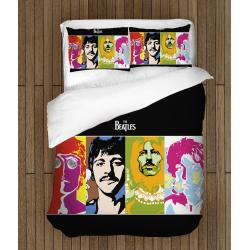 Lenjerie de pat spectaculoasă The Beatles
