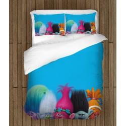 Set de pat de efect pentru copii Trolls - Trolls