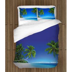 Set cearșafuri Plajă Tropicală - Tropical Beach