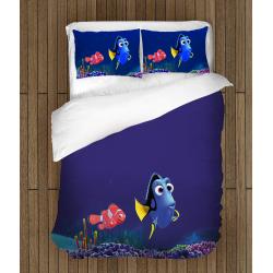 Lenjerie de pat pentru copii În căutarea lui Dory - Finding Dory