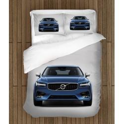 Set de pat cu mașină Volvo