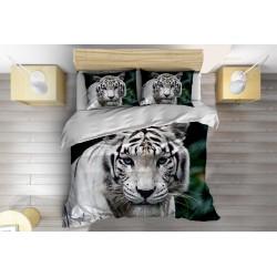 3D Set de pat Tigru alb- White Tiger
