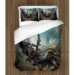 Lenjerie de pat spectaculosă World of Warcraft Battle for Azeroth