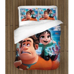Lenjerie de pat pentru copii Ralph rupe netu`- Ralph