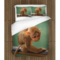 Cearșafuri de pat Maimuță - Funny Monkey