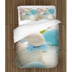 Set de pat Paști Iepurașul de Porțelan - Porcelain Rabbit