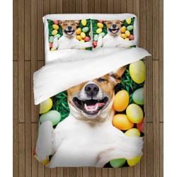Lenjerie de pat Paști Atmosferă de sărbătoare - Festival Emotion