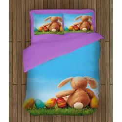 Set de pat de primăvară Poiană de Paști - Easter Meadow