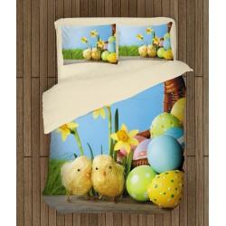 Set de pat de sărbătoare Puișori de Paști - Easter Chicks