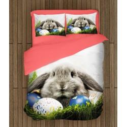 Lenjerie de pat Paști Iepurașul de Paște- Easter Bunny