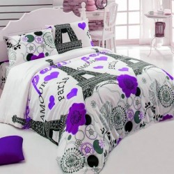 Lenjerie de pat de Boutique - 100% Bumbac - Julia