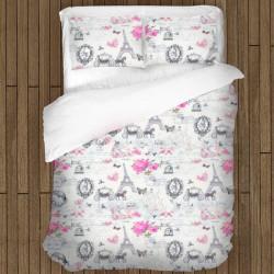 Lenjerie de pat de Boutique - 100% Bumbac - Josephine